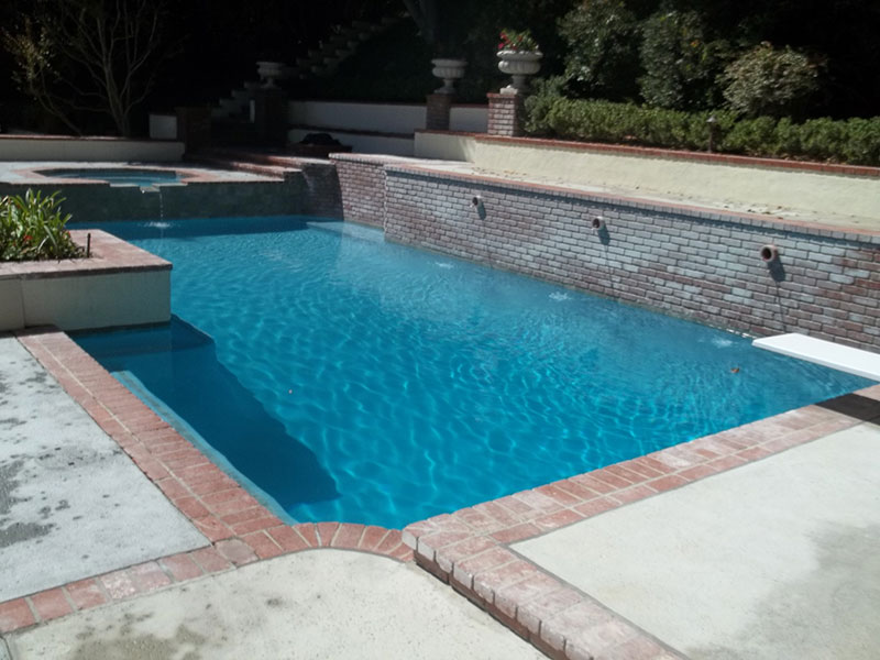 Crystal Blue Plaster Amp Quartz Alan Smith Pools