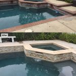 Pool resurface, pool tile, pool coping, Stone Veneer