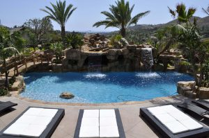 Beautiful pool finish and pool repair options