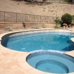 pool sand color coping orco mediterranean crystal blue microfusion and spa