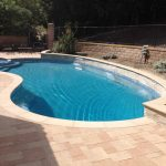 pool sand color coping orco mediterranean crystal blue microfusion