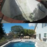 pool and spa before after